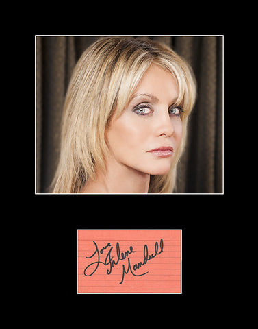 Framed Matted Irlene Mandrell Hand Signed Autograph and Photo - Singer Actress Model - TnTCollectibles
