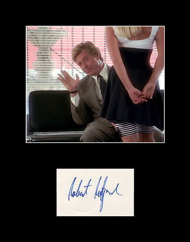 Framed Matted Hollywood Legend Robert Redford Signed Autograph and Photo 2 - TnTCollectibles