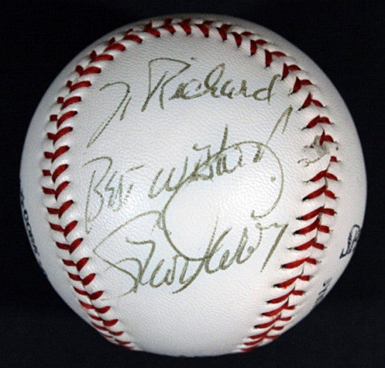Vintage Baseball Legend Steve Garvey Autograph Hand-Signed Baseball - TnTCollectibles