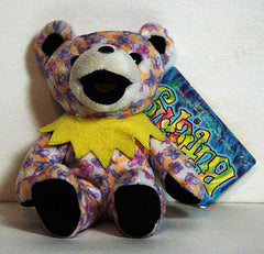 Grateful Dead Plush Butterfly Pattern Bear NWT - TnTCollectibles