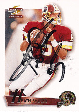 Collectible Quarterback Heath Shuler Autograph Signed Washington Redskins Card - TnTCollectibles