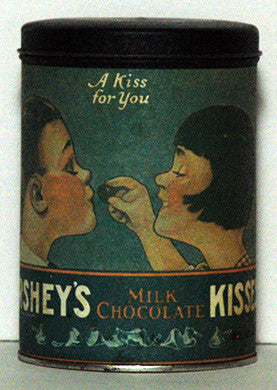 1980 Hershey's Kisses Milk Chocolate A Kiss For You Tin (13) - TnTCollectibles - 1
