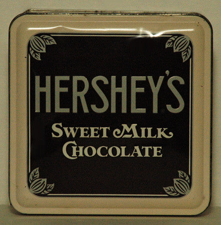 1990 Hershey's Sweet Milk Chocolate 1912 Vintage Edition #1.Embossed Tin (03) - TnTCollectibles - 1