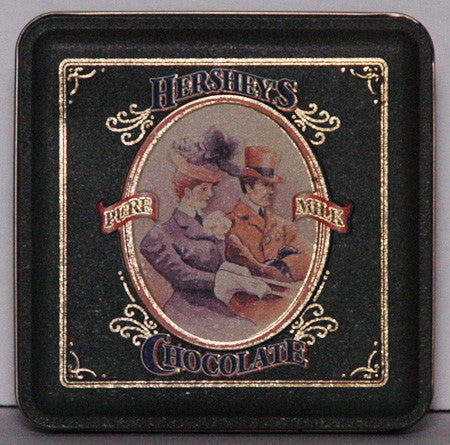 1995 Hershey's Pure Milk Chocolate Vintage Edition #4. Embossed Tin (04) - TnTCollectibles - 1