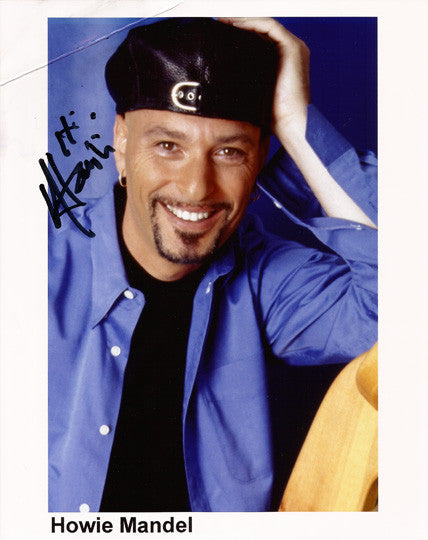 Comedian Howie Mandell Autographed Signed Photo Americas Got Talent Memorabilia - TnTCollectibles