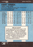 2 Time World Series Champion Kent Hrbek Autograph Minn Twins Signed Sticker Card - TnTCollectibles - 2