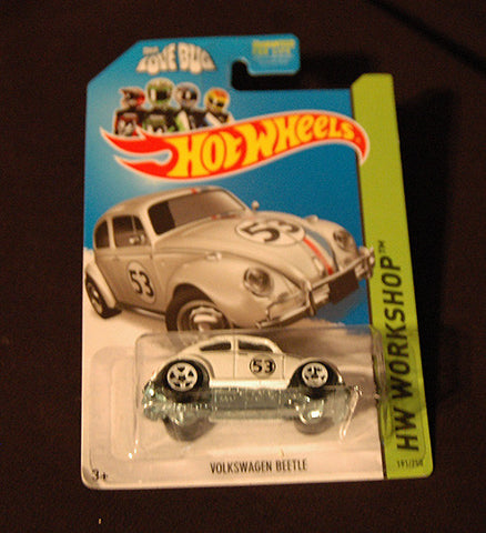 Hot Wheels Sealed HW Workshop Herbie The Love Bug VW # 23 - TnTCollectibles
