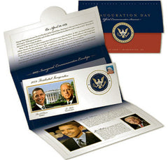 President Barack Obama Inauguration Day Official USPS FDC First Day Issue Stamp - TnTCollectibles - 1