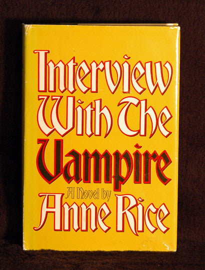 Author Anne Rice Autograph Interview with the Vampire Signed First Edition Book - TnTCollectibles - 1
