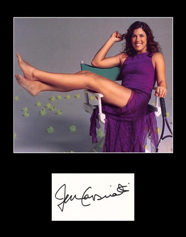 Rare Collectible Tennis Star Jennifer Capriati Signed Autograph and Photo - TnTCollectibles