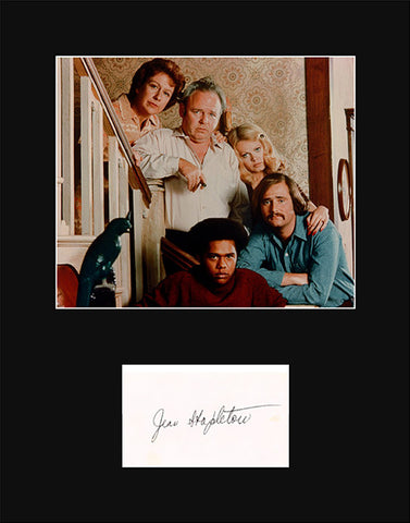 Collectible All in the Family TV Star Jean Stapleton Signed Autograph and Photo - TnTCollectibles