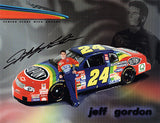 NASCAR Racing Legend Jeff Gordon Autograph Signed Promo Photo - TnTCollectibles - 1