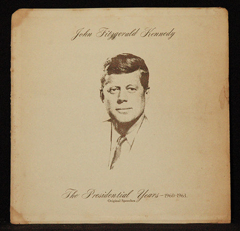 Antique Record LP John F. Kennedy: The Presidential Years 1960-1963 - 20th Century Fox Records - TnTCollectibles - 1