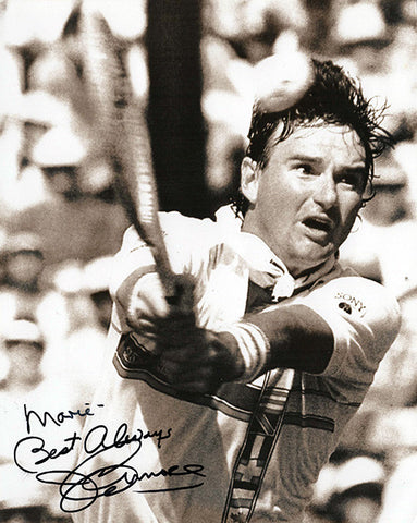 Collectible Tennis Legend Jimmy Connors Autographed Inscribed Hand Signed Photo 2 - TnTCollectibles