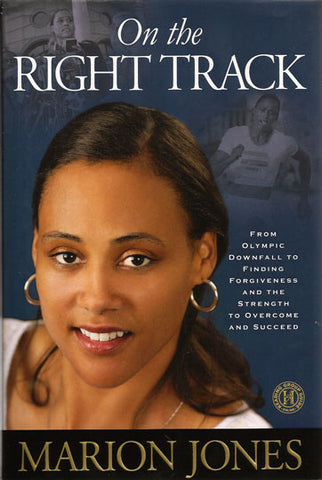 Rare Collectible First Edition Autographed Hand Signed Olympic Marion Jones Book - TnTCollectibles - 1