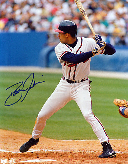 Atlanta Braves David Justice Autographed Signed 8x10 Photo - TnTCollectibles