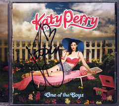 Katy Perry Autographed Hand-Signed One Of The Boys CD Cover - TnTCollectibles