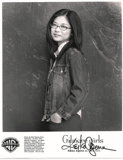 Collectible Gilmore Girls TV Star Keiko Agena Autographed Hand Signed 8x10 Photo - TnTCollectibles