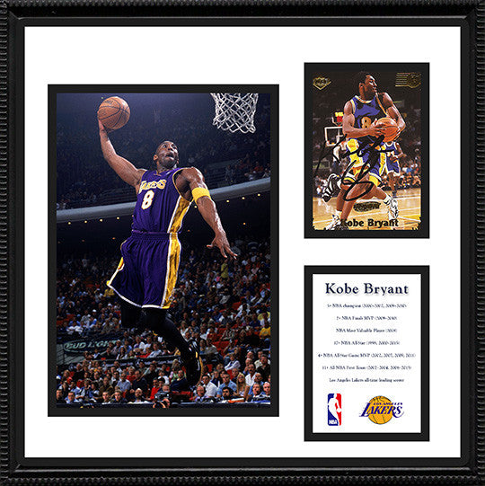 Kobe Bryant Autograph Hand Signed Framed Rookie Card - LA Lakers 5 Time NBA Champion - TnTCollectibles - 1
