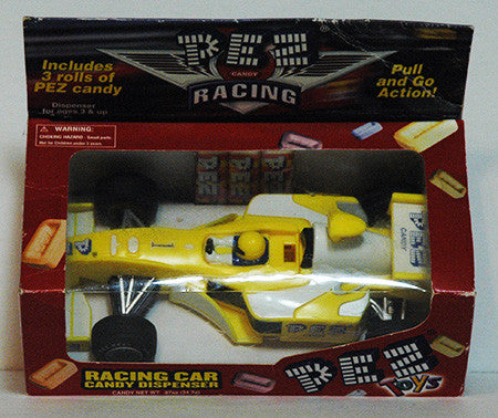 Pez Dispenser Large Formula One Open Wheel Pull N Go Indy Race Car NIP - TnTCollectibles - 1