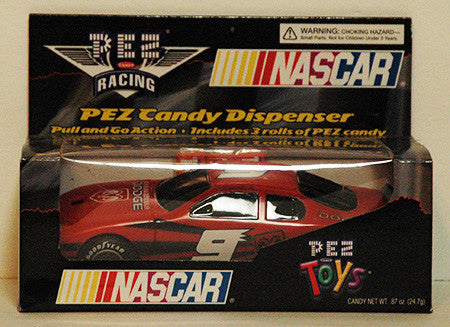 Pez Dispenser Large NASCAR Pull N Go Kasey Kahne 9 Race Car NIP - TnTCollectibles