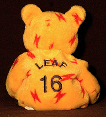 Quarterback Ryan Leaf #16 Plush Bean Bear - San Diego Chargers Dallas Cowboys - TnTCollectibles - 1
