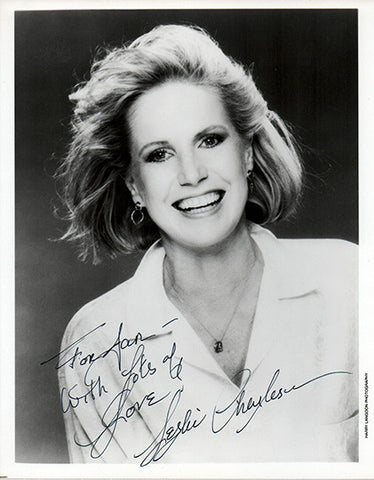 General Hospital Star Leslie Charleson Autograph Signed Photo Monica Quartermaine - TnTCollectibles