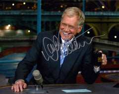 Late Night TV Legend Late Show Star David Letterman Autograph Hand Signed Photo - TnTCollectibles