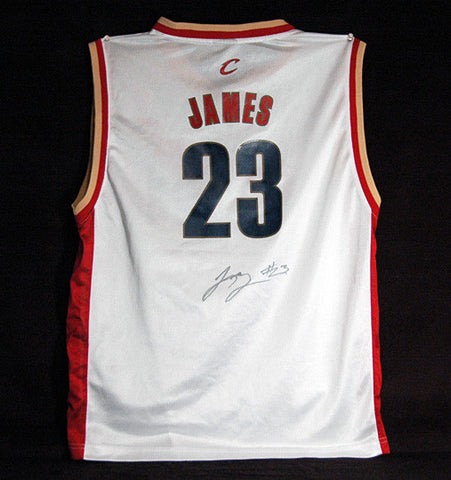 2 Time NBA Champion LeBron James Autograph Signed Cleveland Cavaliers Reebok Jersey - TnTCollectibles - 1