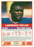 Rare Collectible 2x Super Bowl Champion Lawrence Taylor Autographed Signed Card - TnTCollectibles - 2