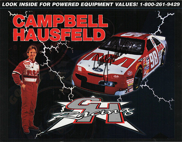 NASCAR Racing Legend Cale Yarborough Autograph Signed Campbell Hausfeld CH Catalog - TnTCollectibles - 1