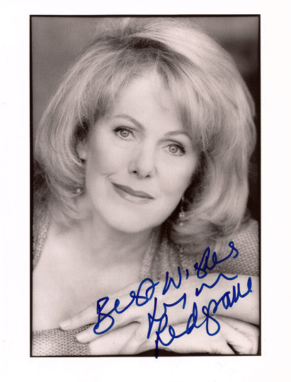 Film, Television and Broadway Star Lynn Redgrave Autographed Hand Signed Photo - TnTCollectibles