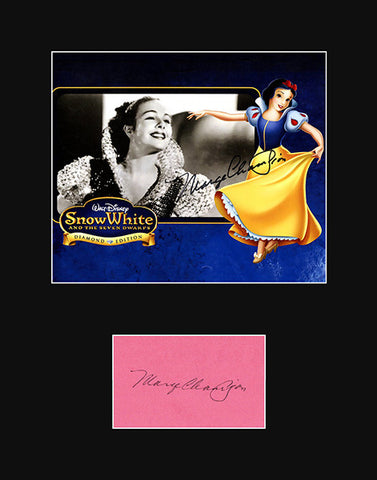 Walt Disney Snow White Dancer Marge Champion Hand Signed Autograph and Photo - TnTCollectibles