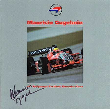 Formula One Driver Mauricio Gugelmin Autograph Signed Promo Photo - TnTCollectibles - 1