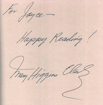 World Famous Author Mary Higgins Clark Autograph Signed All Around The Town Book - TnTCollectibles - 3