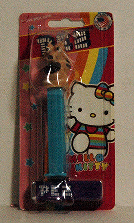 Pez Dispenser ERROR Ice Age Scrat on Hello Kitty Card Stock NIP - TnTCollectibles