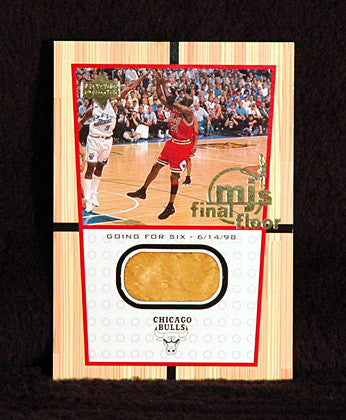 Michael Jordan Final Shot 1999-2000 Upper Deck Final Floor Jumbo Card FF1 - TnTCollectibles - 1