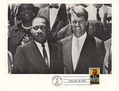 Rare Framed Martin Luther King Special FDC First Day Issue Stamp Kennedy Jan 13 1979 - TnTCollectibles