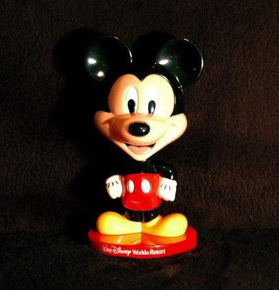 Rare Collectible Vintage Walt Disney World Resort Mickey Mouse Bobble Head - TnTCollectibles