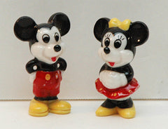 Vintage Porcelain Ceramic Mickey and Minnie Mouse Figures - Walt Disney - TnTCollectibles