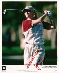 Collectible 8x10 LPGA Champion Janice Moodie Autograph Hand Signed Photo - TnTCollectibles