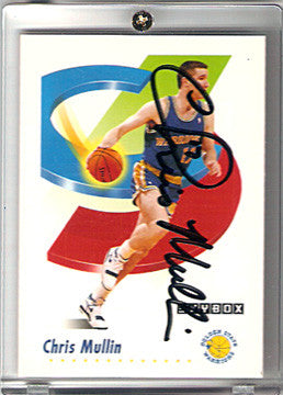 Basketball Star Chris Mulin Golden State Warriors Autographed Hand Signed Card - TnTCollectibles