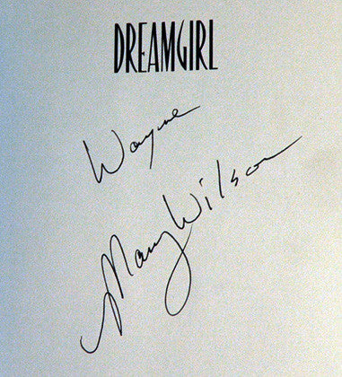 Supremes Founding Member Mary Wilson Autograph Hand Signed Dreamgirl Book 1st Ed - TnTCollectibles - 2