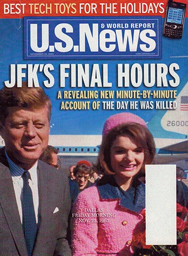 JFK's Final Hours - U S News and World Report Magazine Nov 24 2003 - TnTCollectibles