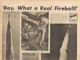 NASA Astronaut John Glenn First American To Orbit Earth Entire S.F. Newspaper - TnTCollectibles - 2