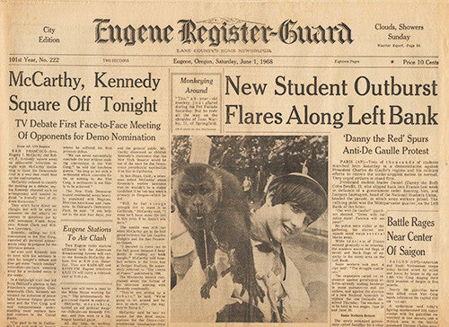 RFK Robert F Kennedy Final Hours Newspaper Collection - June 1, June 4 to June 7 1963 - TnTCollectibles - 6