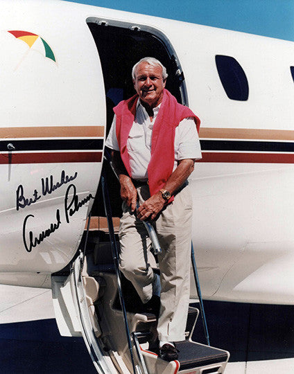 PGA Golf Legend Arnold Palmer Autograph Hand Signed 8x10 Photo - TnTCollectibles
