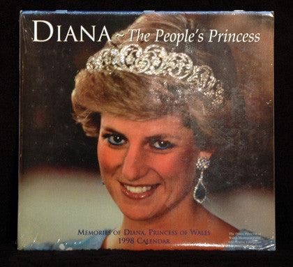 Collectible 1998 Princess Diana The People's Princess Mint Sealed Calendar 12x24 - TnTCollectibles - 1