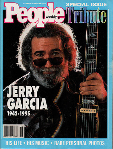 1995 People Magazine Tribute Grateful Dead Jerry Garcia  1942 - 1995 - TnTCollectibles