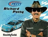 The King - Richard Petty Autographed Hand Signed Large Tour Promo Print 2 - TnTCollectibles - 1